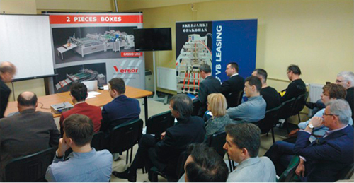 Компания VERSOR провела Packaging Innovations Days в Польше